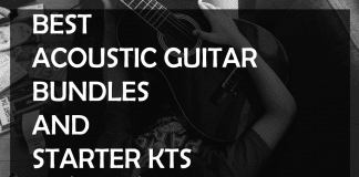 acoustic guitar bundles and starter kits for beginners