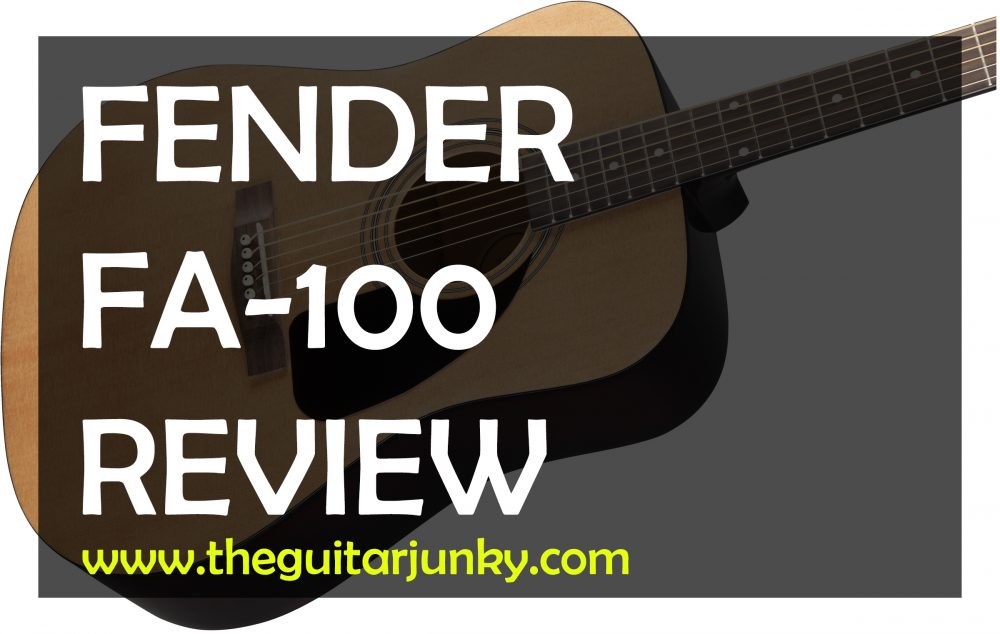 Fender Fa 100 Review Is It The Best Starter Acoustic Guitar