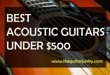 best acoustic guitars under $500