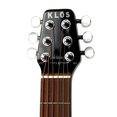 Klos guitar headstock