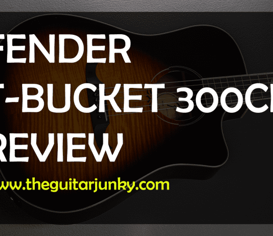 fender t-bucket 300ce review
