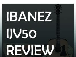 ibanez ijv50 review