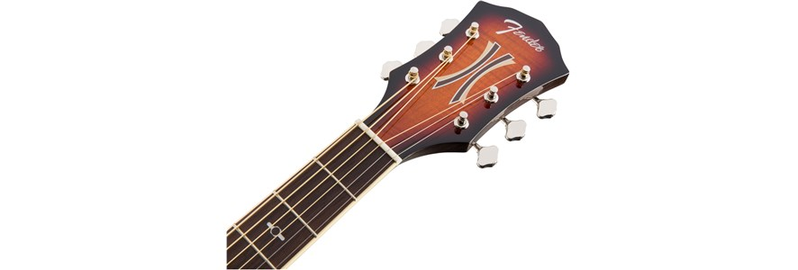 Fender T-Bucket 300CE headstock
