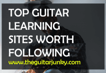 top guitar learning sites
