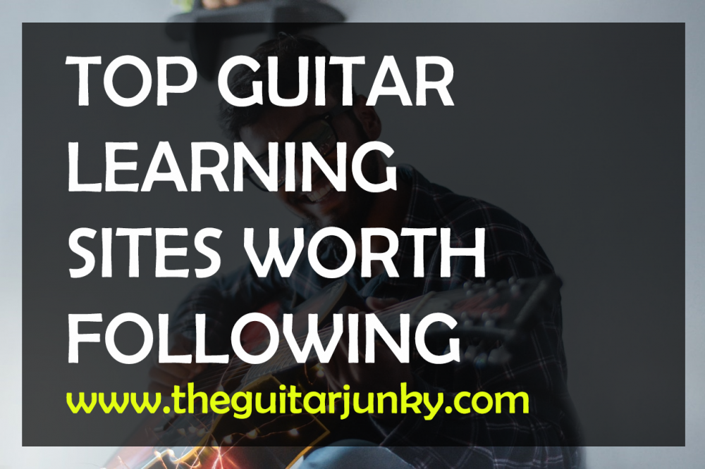 4 awesome websites to find guitar chords for songs.