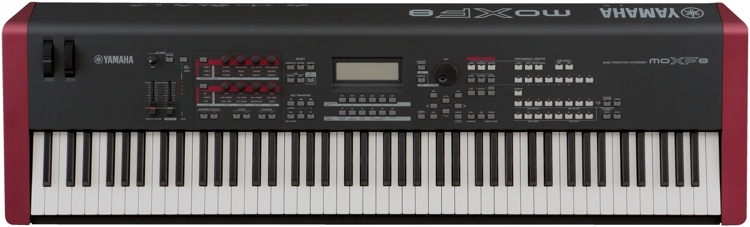 best yamaha moxf8 review