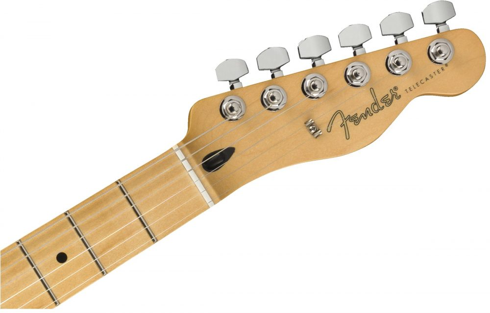 Fender Modern Player Telecaster Plus headstock