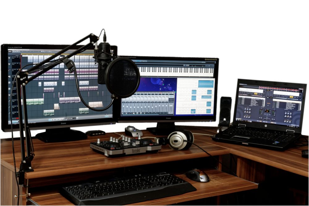 dedicated room recording studio equipment