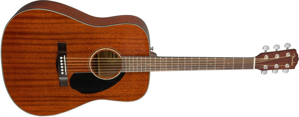 fender cd 60s mahogany acoustic guitar review