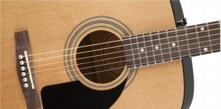 fender fa 100 acoustic guitar review
