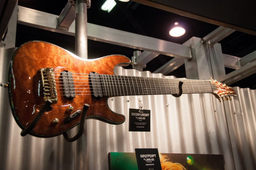 8-string electric guitar