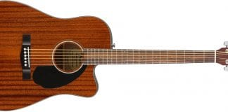 fender cd-60sce review