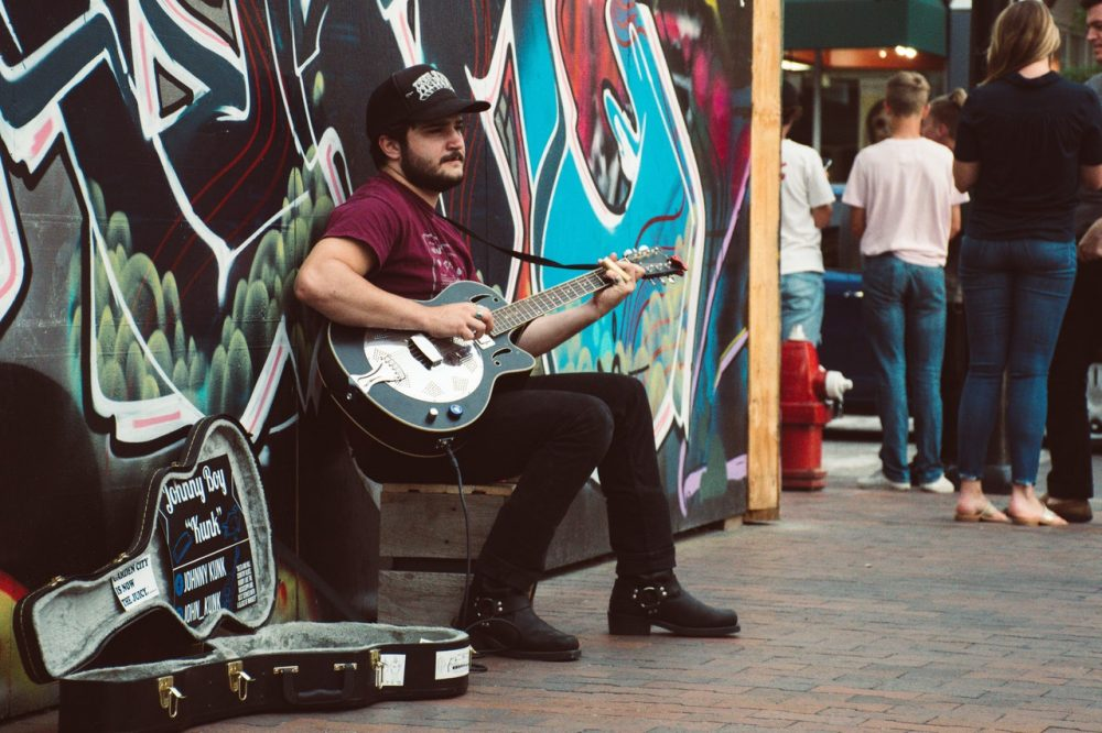 best amps for busking