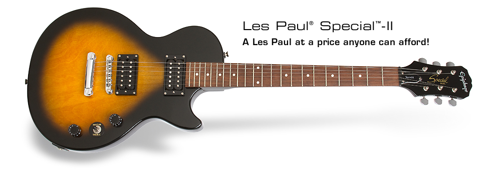 epiphone les paul speciall ii review