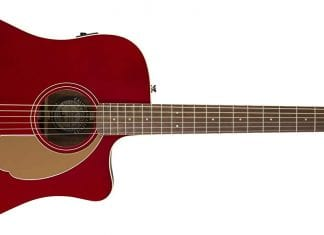 fender newporter player red