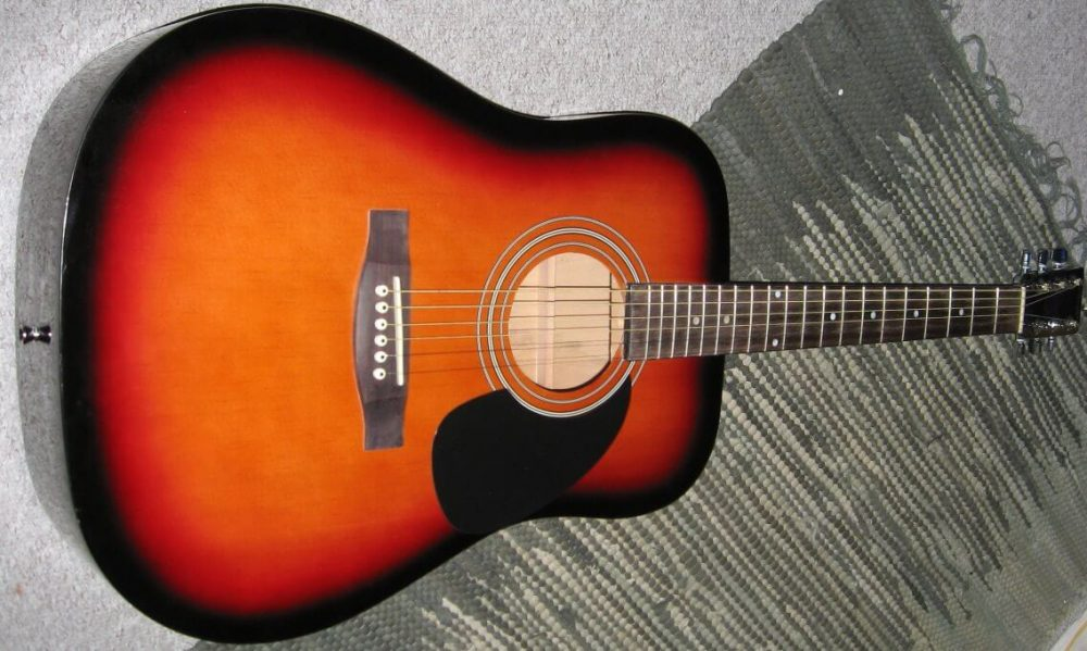 my first ever acoustic guitar