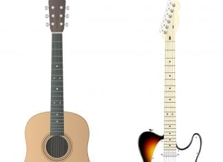 Is it better to learn guitar on acoustic or electric