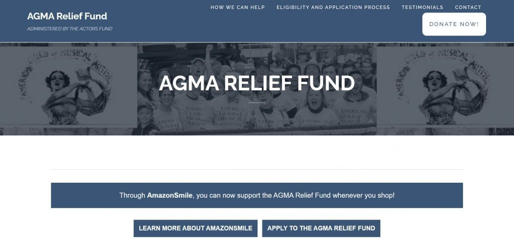 AGMA Relief Grant
