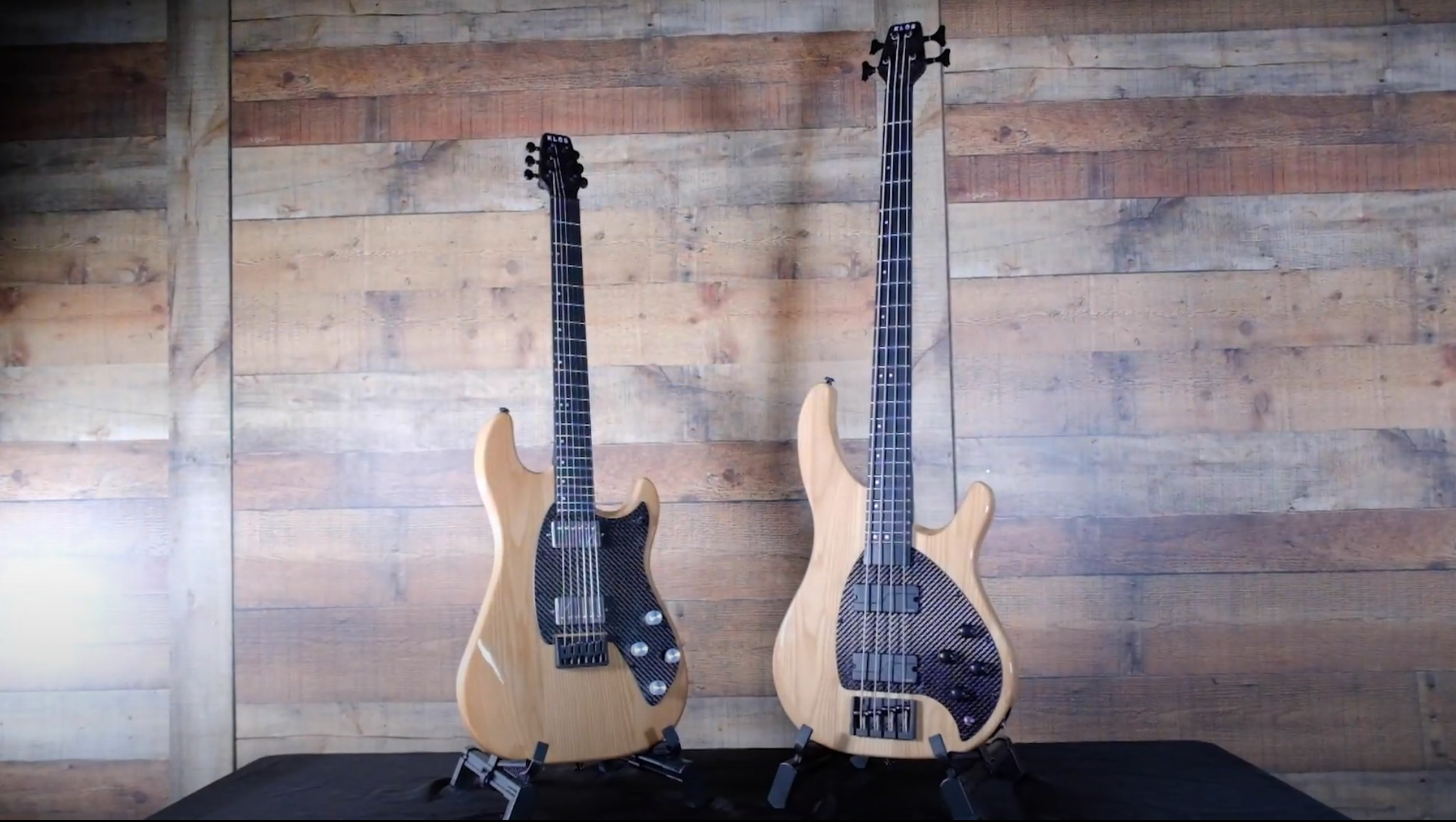 Klos apollo series electric guitar and bass launch